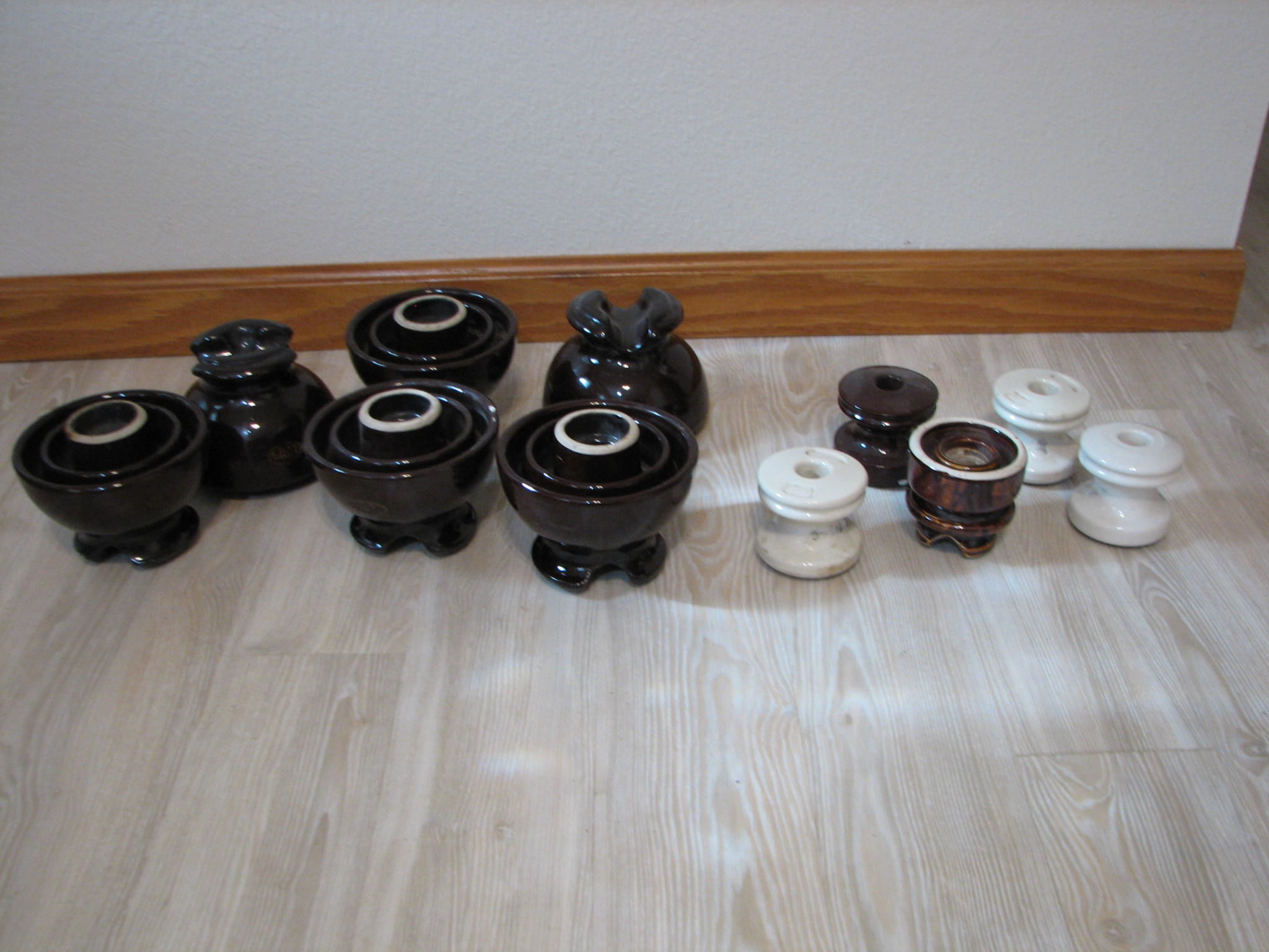 Vintage Ceramic Insulators image 1