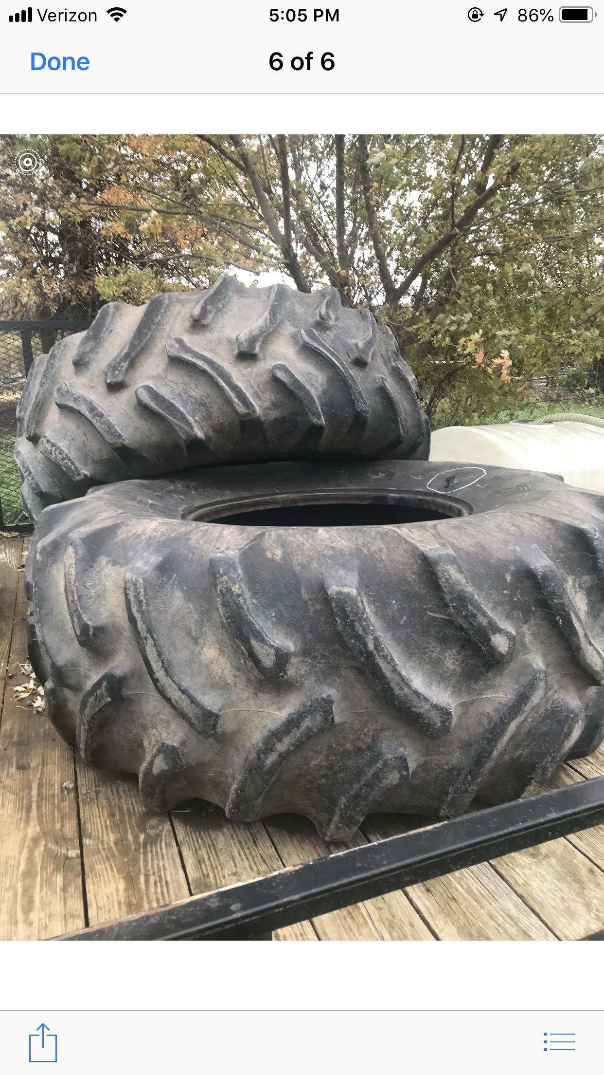 Combine tires image 1
