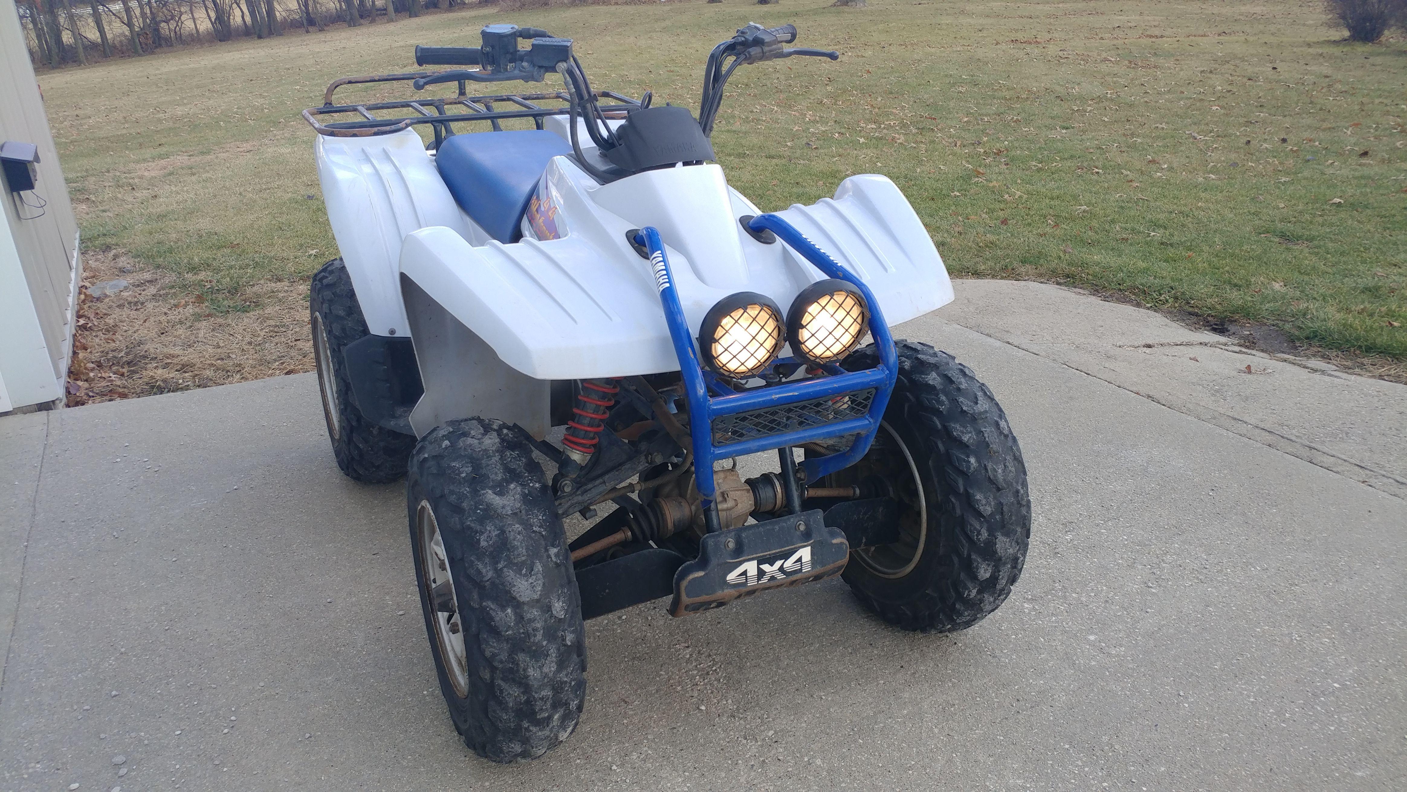 Yamaha 350 4X4 4 wheeler image 1