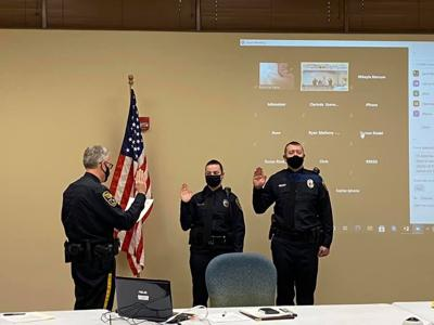 New Clarinda Police Officers