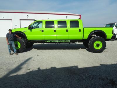 Larry Cooper S Amazing 8 Door Ford Truck