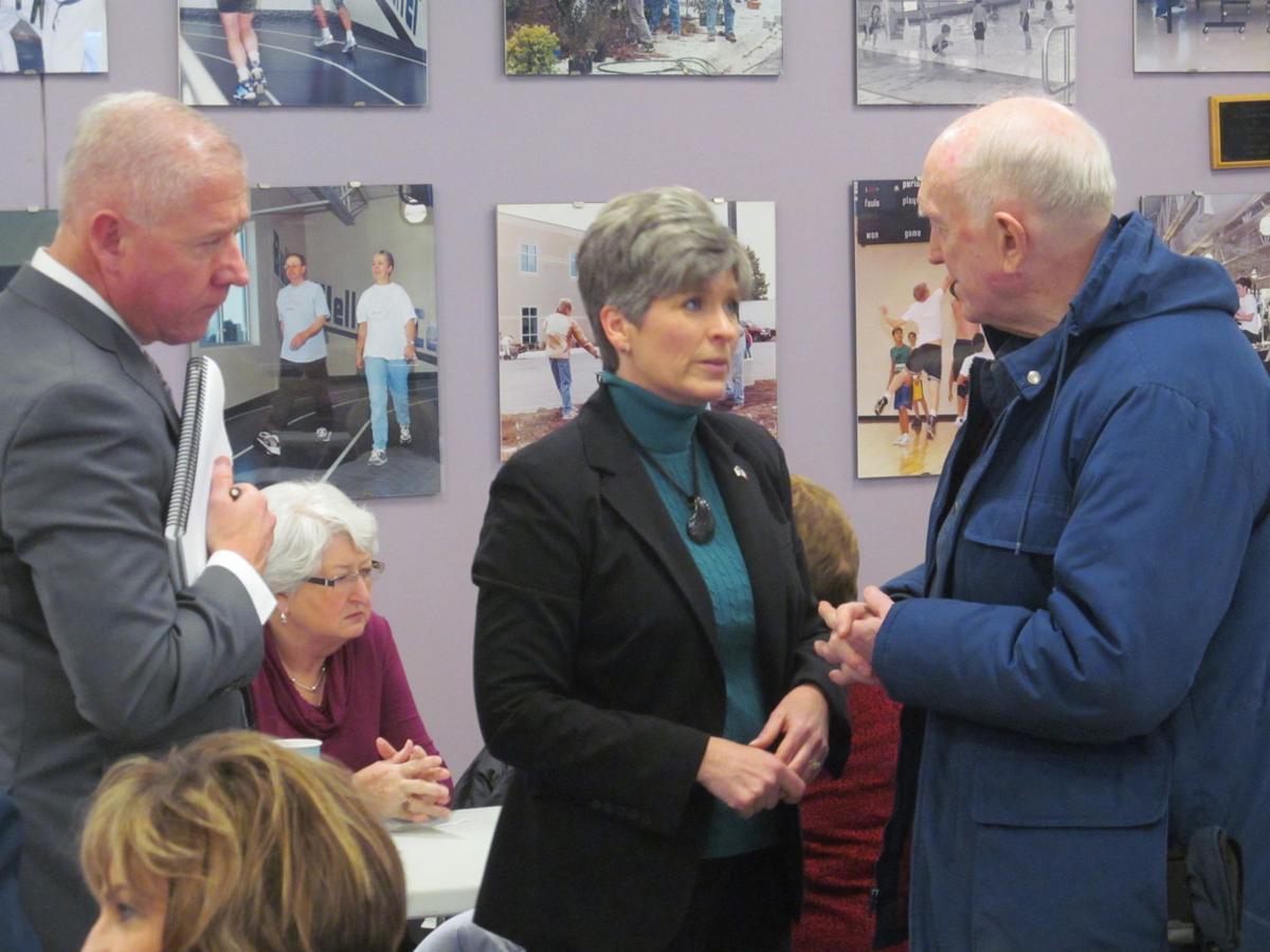 Iowa Senator Joni Ernst in Red Oak