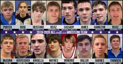 All-KMAland Wrestling Team