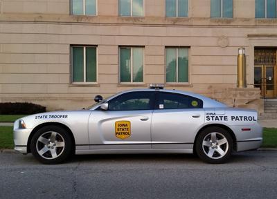 Iowa State Patrol Squad Car