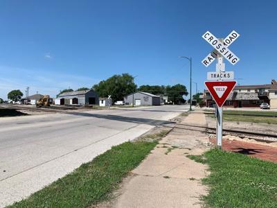Sheridan Avenue Railroad Crossing