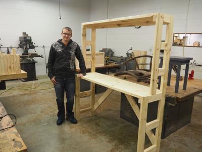 Stupendous Shenandoah High School Industrial Arts Students Working Hard Forskolin Free Trial Chair Design Images Forskolin Free Trialorg