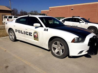 Red Oak Police Department Squad Car