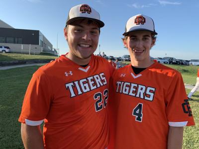 Cole Carlson and Garrett Couse, Red Oak Tigers Baseball