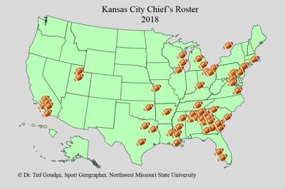 Geography with Goudge: KC Chiefs Roster | Sports | kmaland.com on map history, map sam houston state university, map nfl, map university of phoenix stadium,