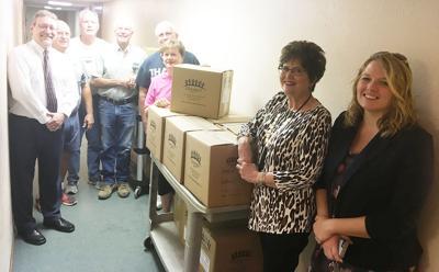 Shenandoah Food Pantry donation