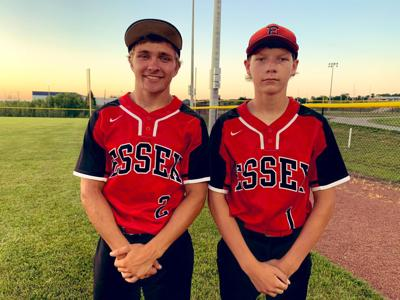 Daniel Ohnmacht and Philip Franks of Essex/South Page Baseball