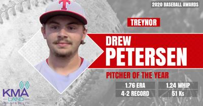 Drew Petersen, Pitcher of the Year