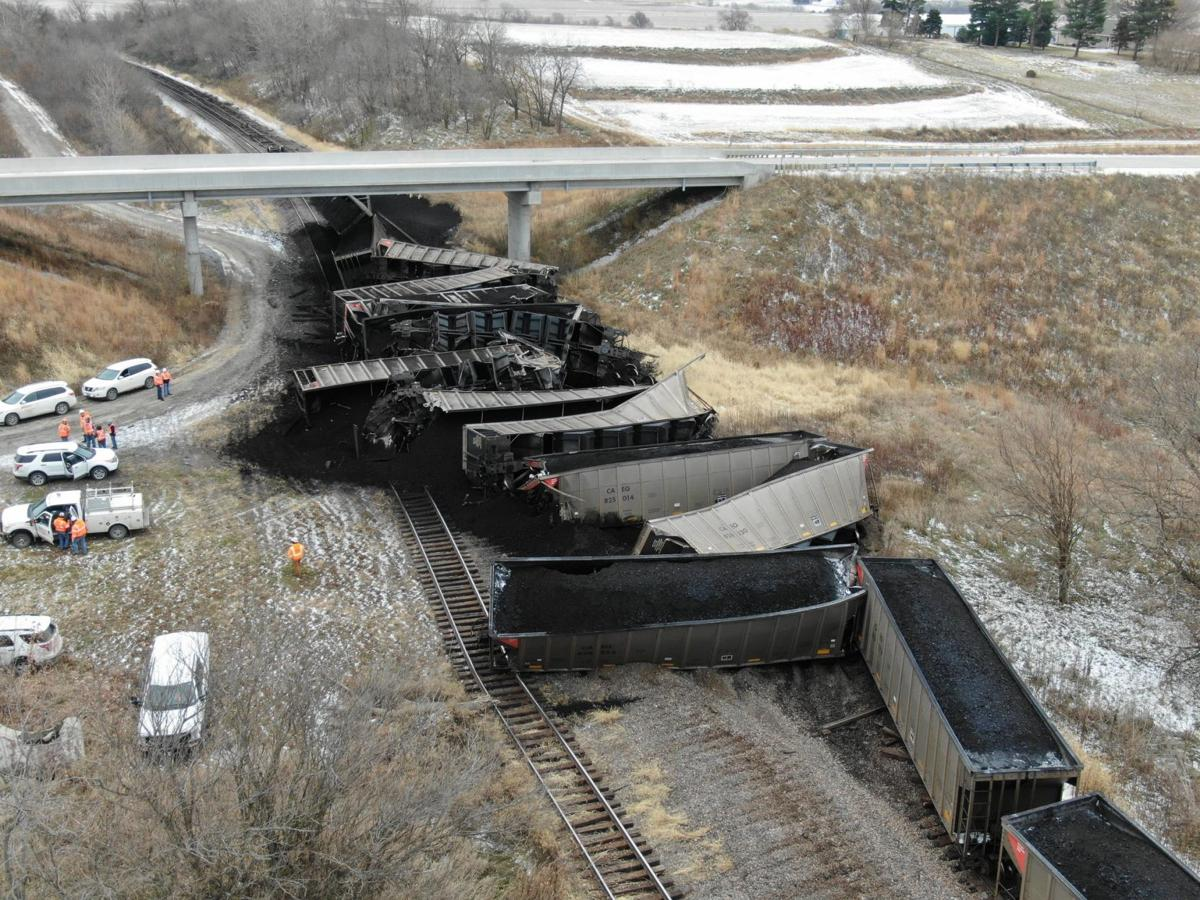 Montgomery County train derailment