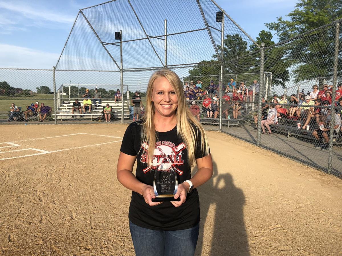 Madison Keysor - Hall of Fame
