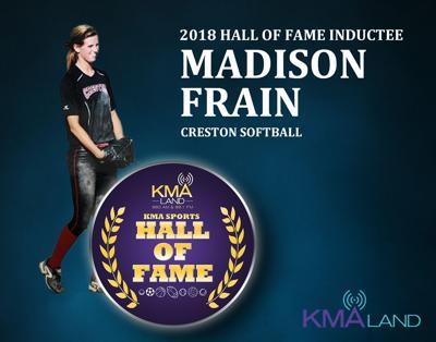 KMA Sports Hall of Fame - Madison Frain