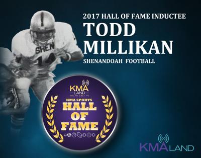 Todd Millikan KMA Sports Hall of Fame