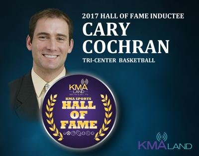 Cary Cochran KMA Sports Hall of Fame
