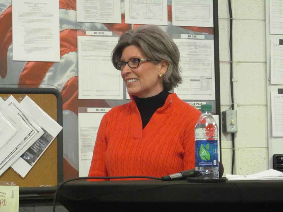 Ernst gets earful at heated Red Oak town hall | News | kmaland com