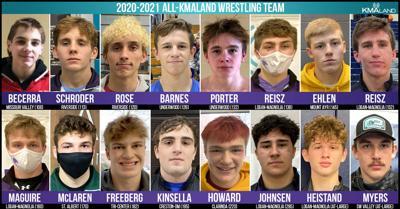 2021 All-KMAland Wrestling Team
