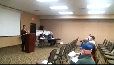 Union County wind turbine meeting