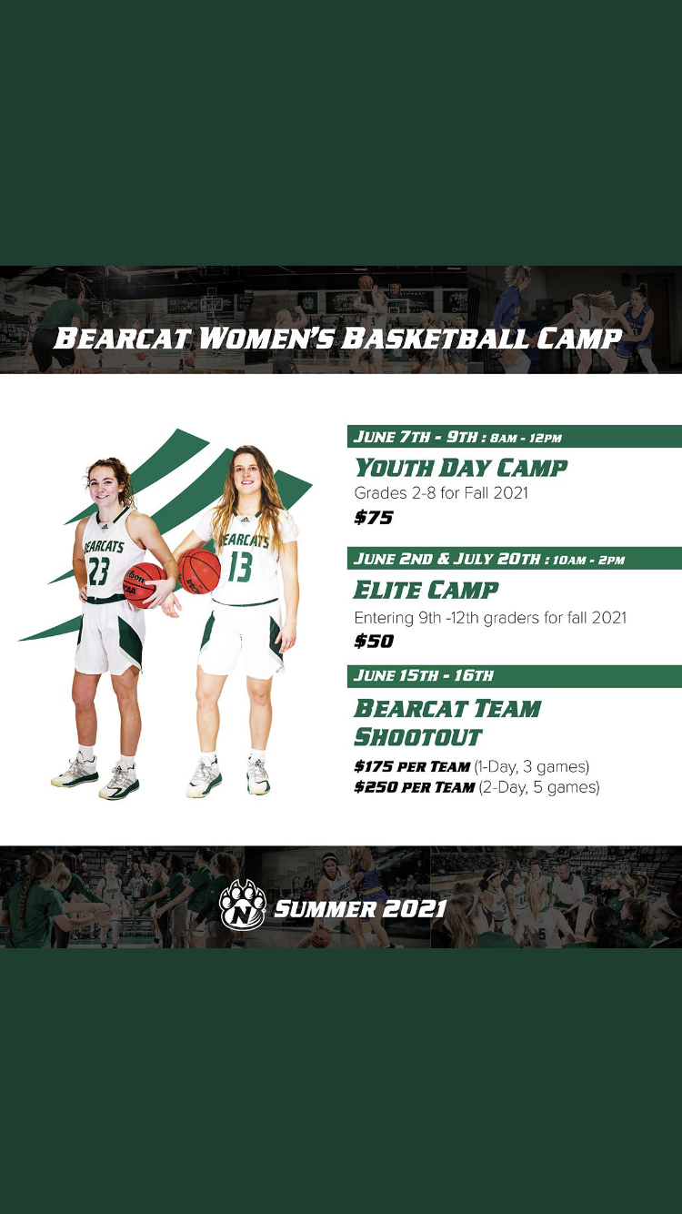 Bearcat Women's Basketball Camp