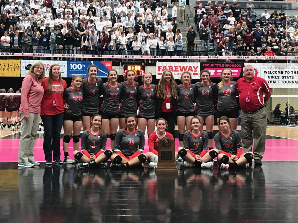 Sidney Volleyball - State Semifinal