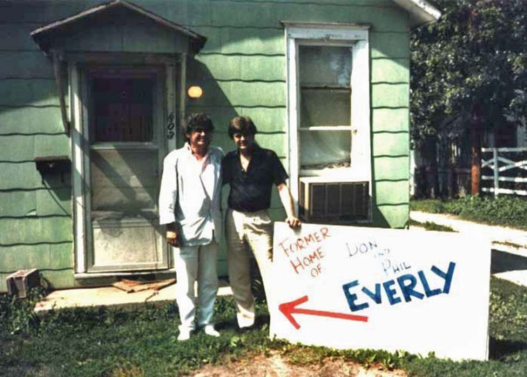 Everly Brothers and home