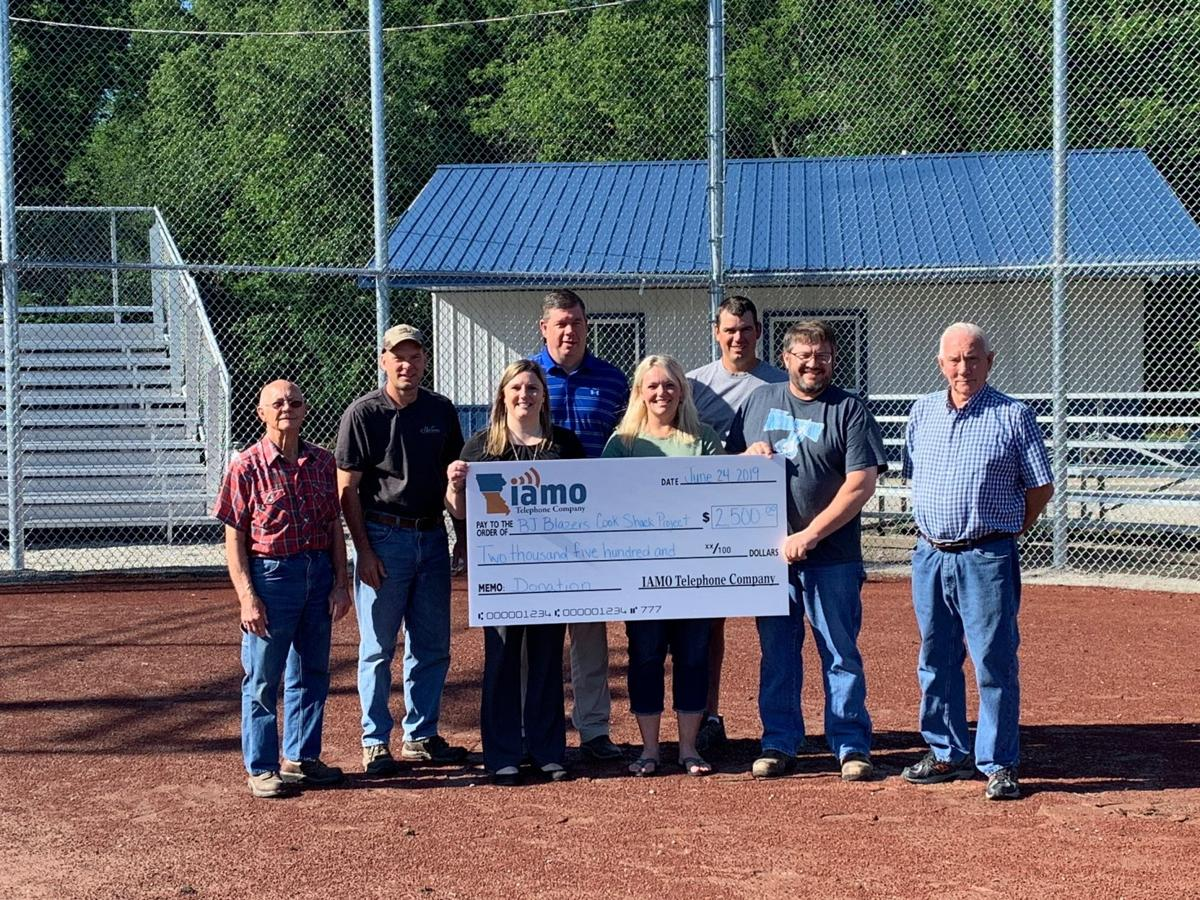 Burlington Junction IAMO Donation