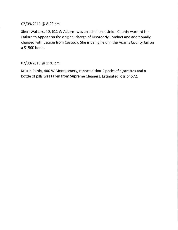 Drug, theft arrests reported in Creston   News   kmaland com