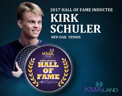 KMA Sports Hall of Fame Kirk Schuler