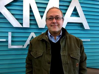 David Young at the KMA Studios