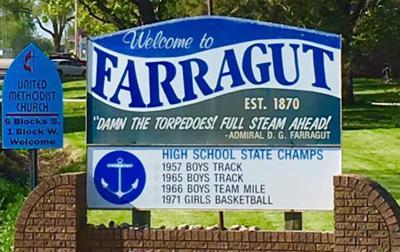 Farragut Sign