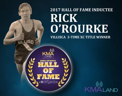 KMA Sports Hall of Fame Rick O'Rourke
