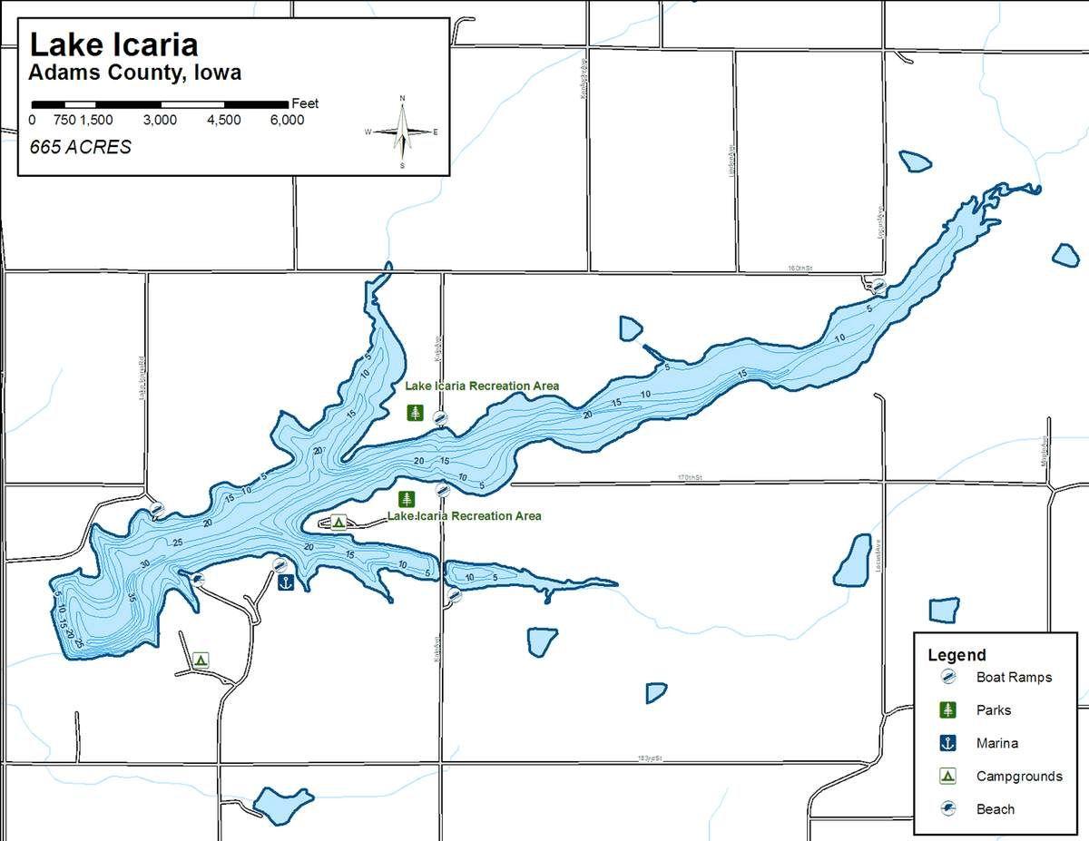 Lake Icaria bond issue on Adams County ballot News kmalandcom