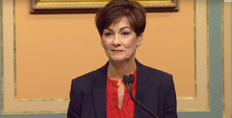 Gov. Kim Reynolds Condition of the State
