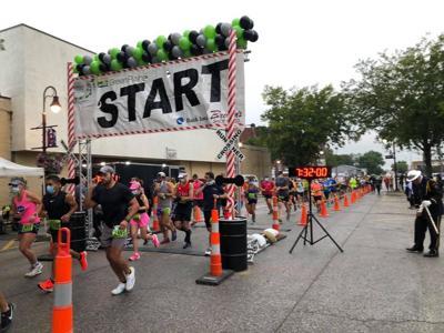 Wabash Trace Nature Trail Marathon Start