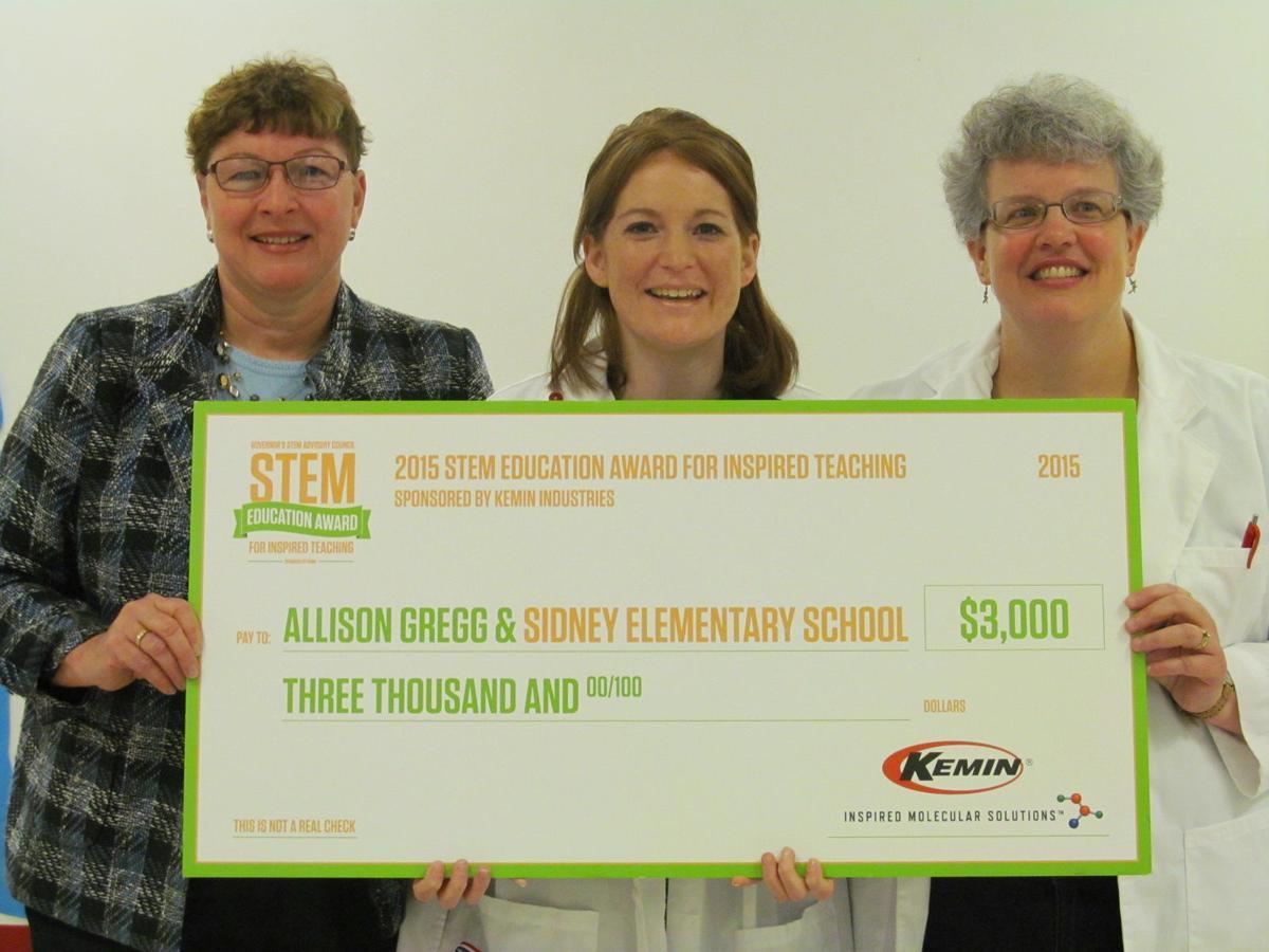 STEM award winner