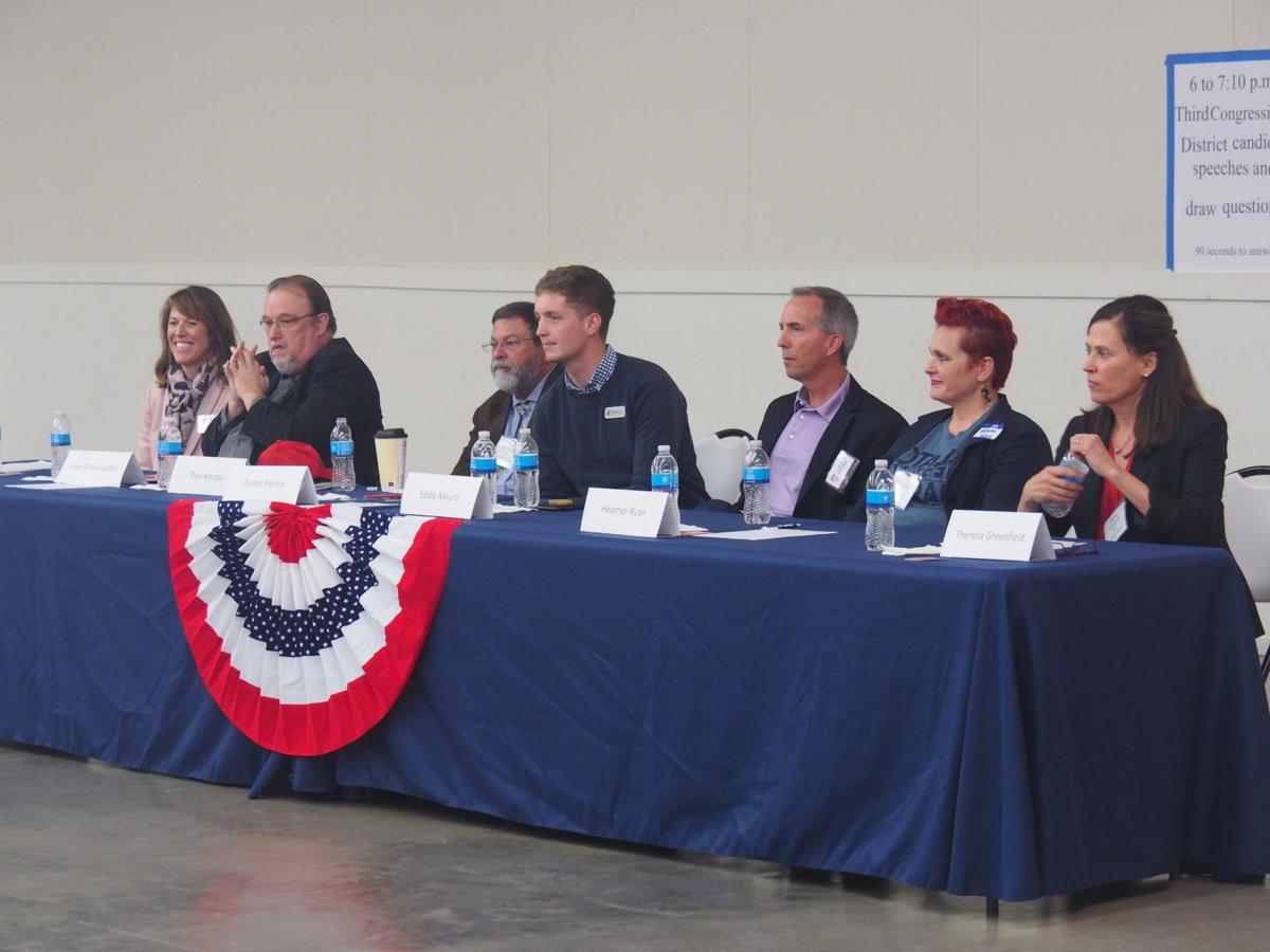 Third Congressional Democrat Candidates.JPG
