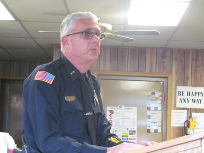 Clarinda Police Chief Keith Brothers