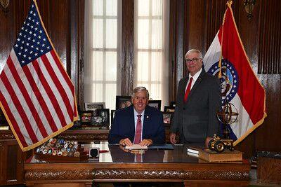 Gov. Parson and Rep. Jim Murphy
