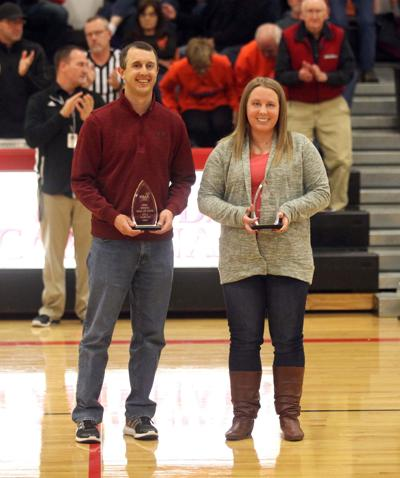 Jill and Kyle Marcum, KMA Sports Hall of Fame