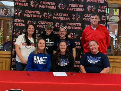 Sara Keeler signs with DMACC
