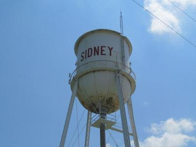 Sidney water tower