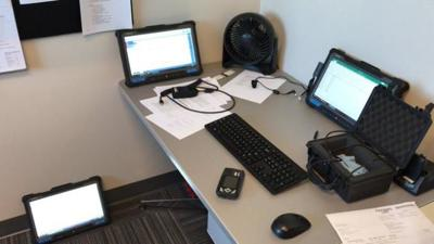 Mobile Fingerprinting Units