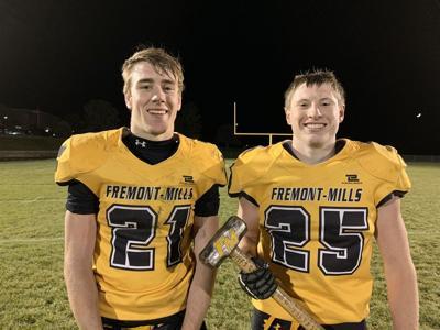 Colton Hauschild and James Switzer, Fremont-Mills Football