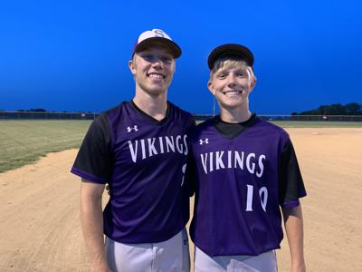 Drake and Carter Johnson, Stanton Viking Baseball