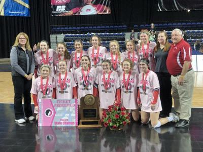 Sidney Volleyball - State Champions