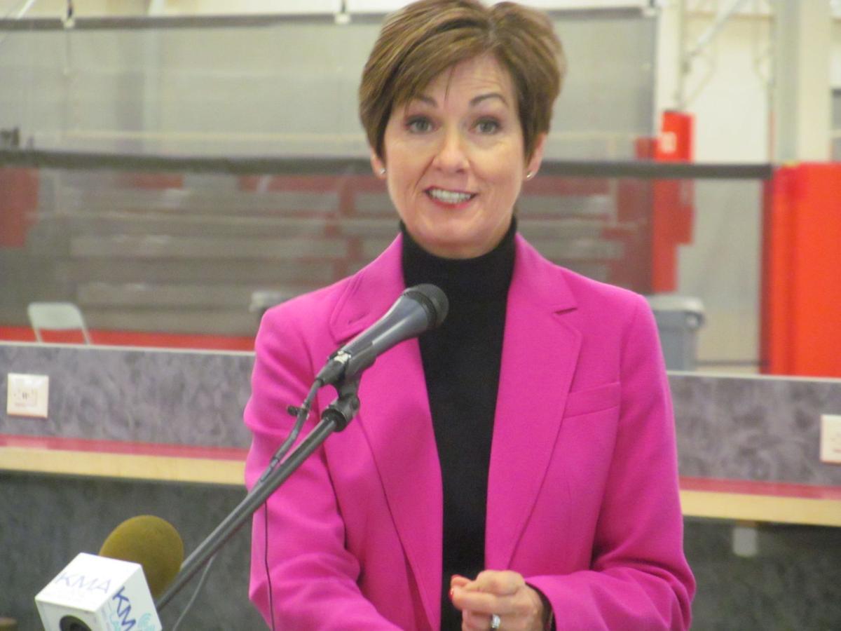 Iowa Governor Kim Reynolds