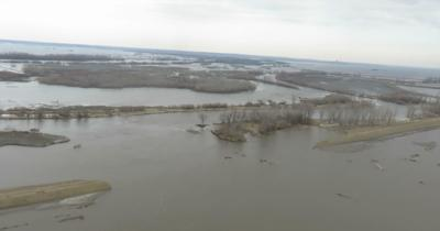 Watson, MO breached levee