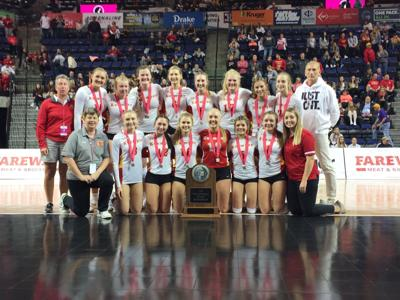 Kuemper Volleyball State Runner-Up